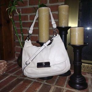 Coach | Used KRISTEN Cream Hobo Bag